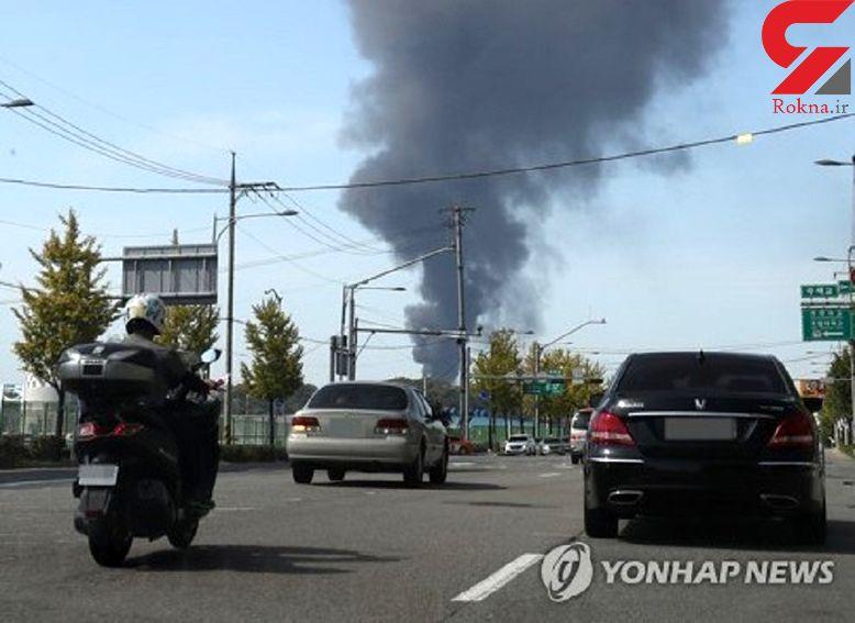 انبار نفت سئول در پایتخت کره جنوبی منفجر شد