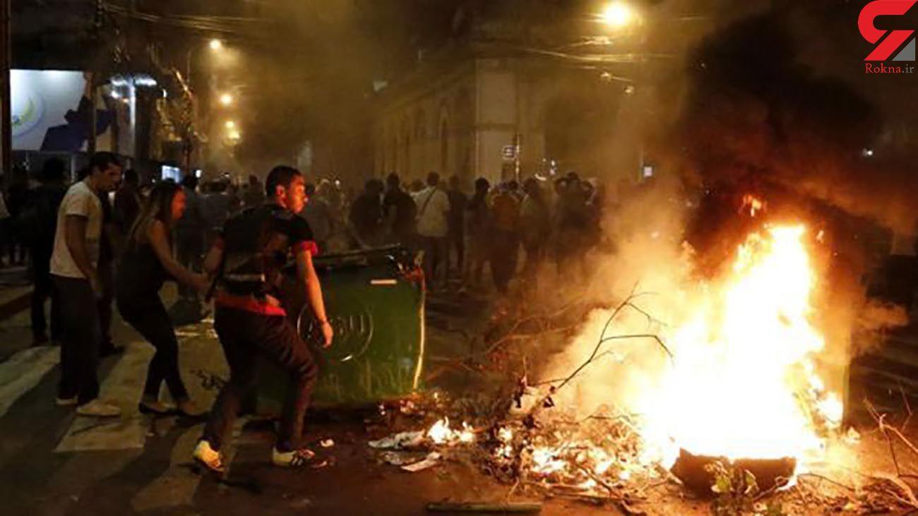 عکس / دود و آتش در پایتخت + جزئیات