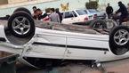 """واژگونی پژو پارس با 2 کشته و 3 مجروح در""""شیراز"""""""
