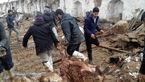 گوسفندان در خراسان رضوی زیر آوار ماندند و تلف شدند + عکس