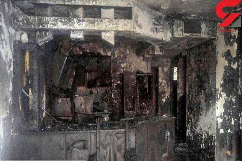 2 دختر و یک مادر با بچه داخل شکمش زنده زنده در هرمزگان سوختند