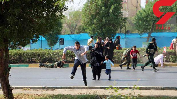 عکس از حمله امروز اهواز