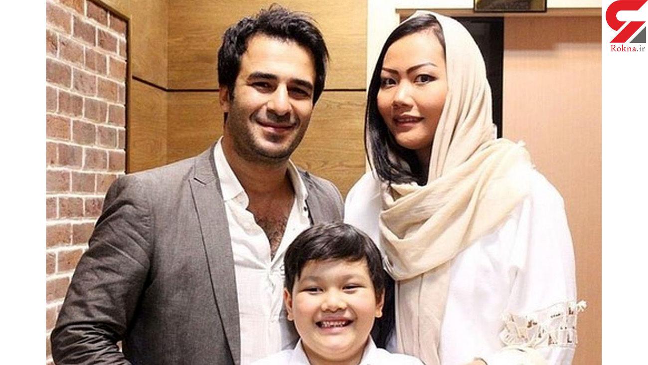 جدایی یوسف تیموری و همسرش / همسر تایلندی یوسف تیموری برای همیشه از ایران رفت + فیلم