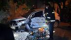 دختر شیرازی پس از زیرگرفتن مرد جوان با تیر چراغ برق تصادف کرد + عکس