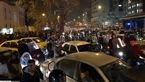ترافیک و مختل شدن عبور و مرور در چهارراه ولیعصر تهران