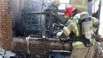 مهار آتش در انباری خانه یک تهرانی