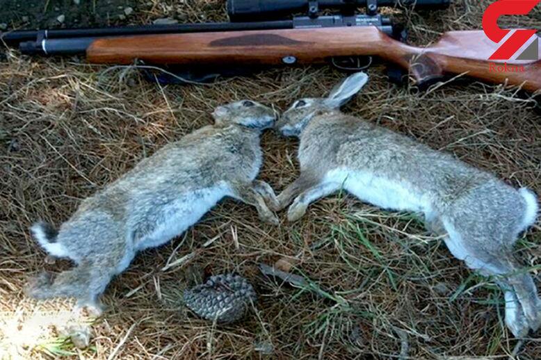 شکارچی های خرگوش در قزوین شکار پلیس شدند