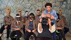 حضور بازیگران با ماسک در مستند پس از حبس