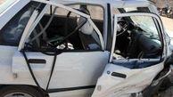 مرگ تلخ راننده پراید در تصادف جاجرم