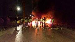 وحشت پلیس اردن از جلیقه زردها !