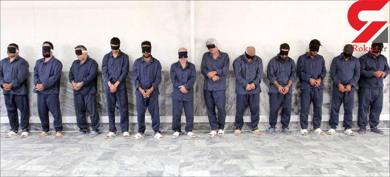 آخرین عضو باند دالتون ها هم در مشهد دستگیر شد + عکس