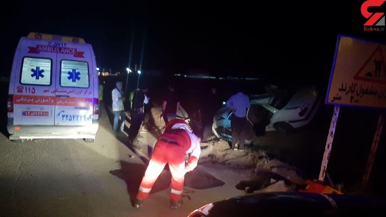 ۴ کشته و زخمی در جاده مرگ مغان - اردبیل