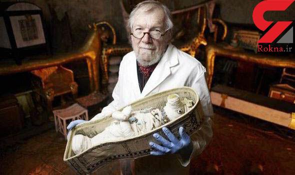 عروسک مومیایی 3 هزار ساله در رود نیل کشف شد+تصویر