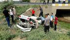 مرگ عجیب  راننده سمند /عکس صحنه حادثه باروکردنی نیست
