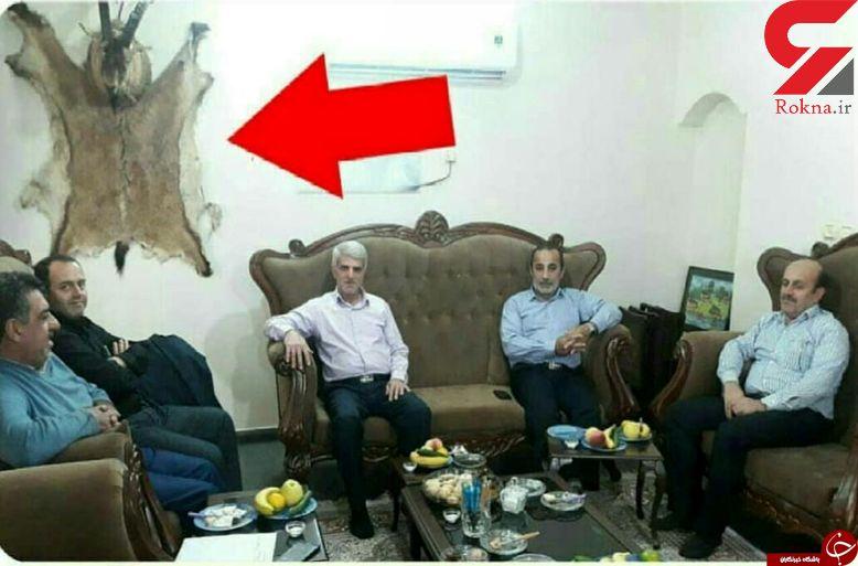 عکس پرحاشیه مسئولان استان مازندران