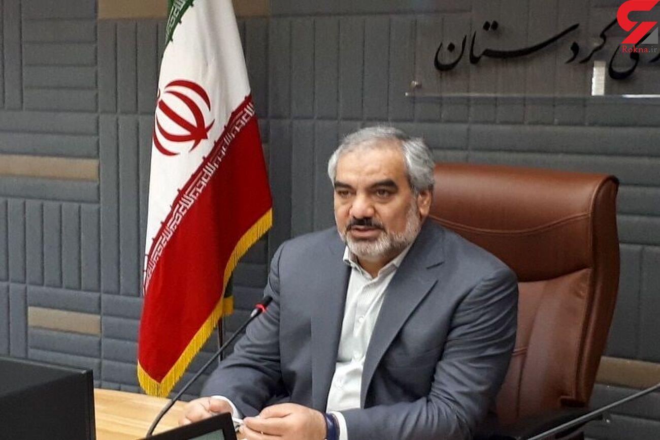 استاندار کردستان نیروی لنتظامی ارتباط خود را با مردم قویتر کند