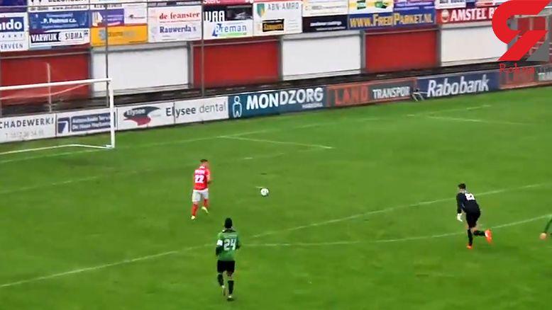 عجیب ترین ویدئو در دنیای فوتبال+ فیلم