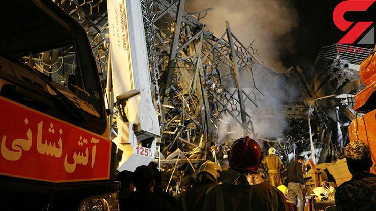 مجروحان حادثه پلاسکو به 88 نفر رسید/ 33 نفر به بیمارستان منتقل شدند