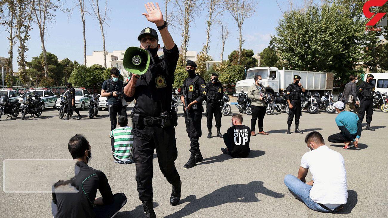 780 مرد خطرناک فارس در دام پلیس