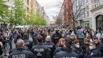 اعتراض آلمانیها به سیاست دولت در قبال محدودیتهای کرونایی + فیلم