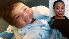 این زن نوزاد برادرش را ربود / در شکم برآمده خبری از جنین نبود+عکس