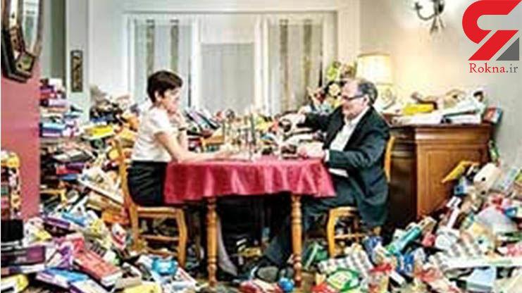 زندگی 4 ساله یک هنرمند با زباله ها + عکس