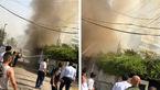 سفارت افغانستان در بغداد طعمه حریق شد+ تصاویر
