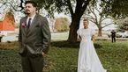 سورپرایز خنده دار داماد توسط عروس/داماد از خنده غش کرد+عکس