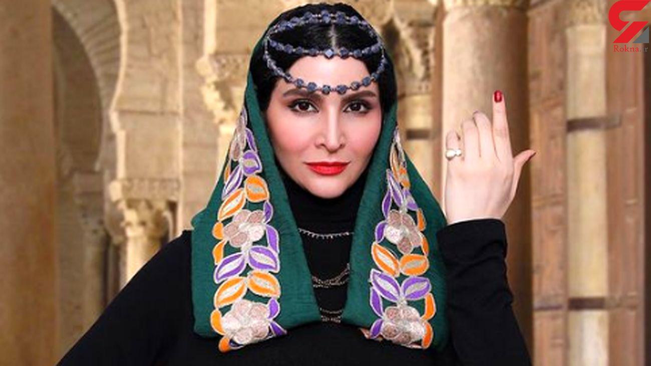 نورا هاشمی در«بانوی محبوب من»