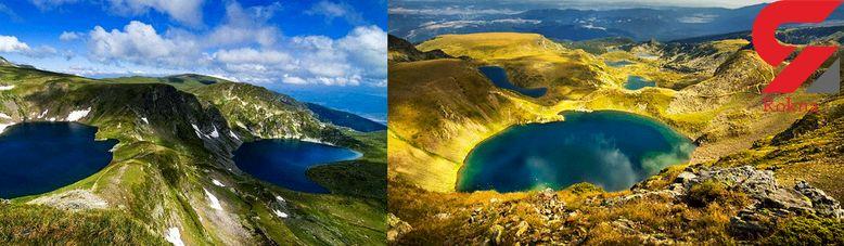 دریاچه های شگفت انگیز ریلا در بلغارستان +تصاویر