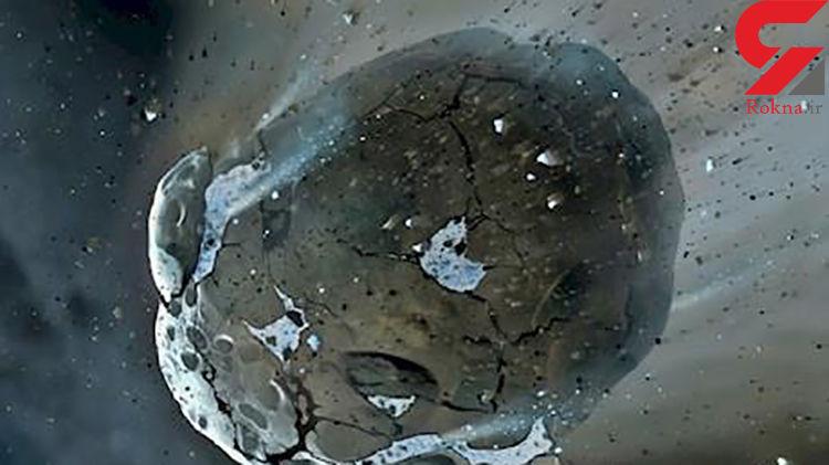 عبور بی خطر سیارک درخشان از کنار زمین