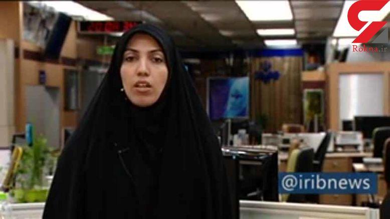 حمله ضدانقلاب ها به خبرنگار زن ایرانی + عکس