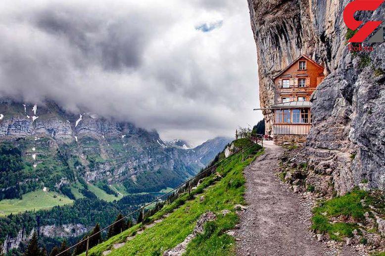 مهمان خانه ای 200 ساله در دل کوه+عکس