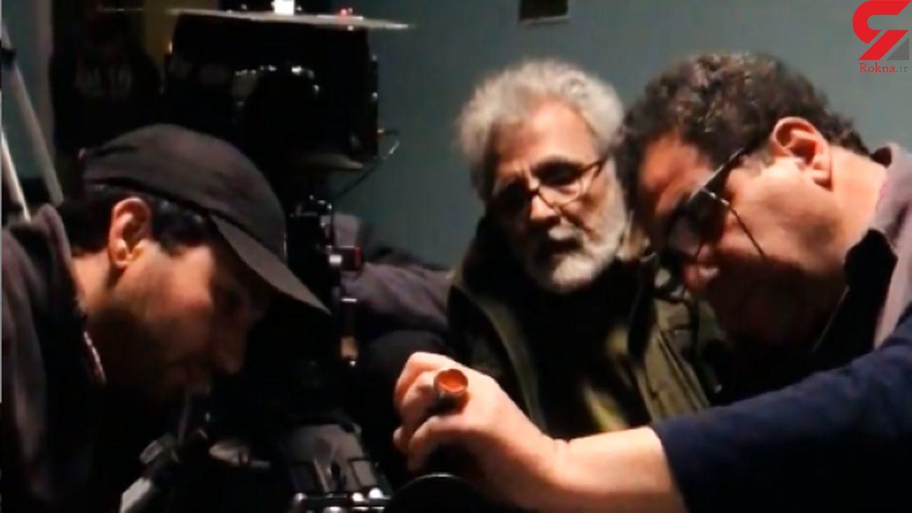 ماسک نزدن در پشت پرده ساخت فیلم بهروز افخمی / همه مان کرونا گرفتیم! + فیلم