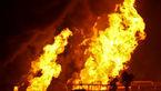 نگهبان پارکینگ شهرداری ایلام خودروها را به آتش کشید