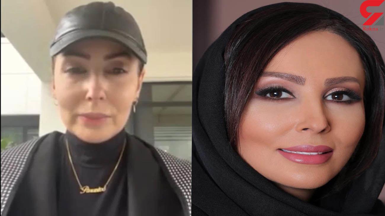 چهره پیر شده پرستو صالحی در مهاجرت از ایران / علت رفتن فاش شد + فیلم