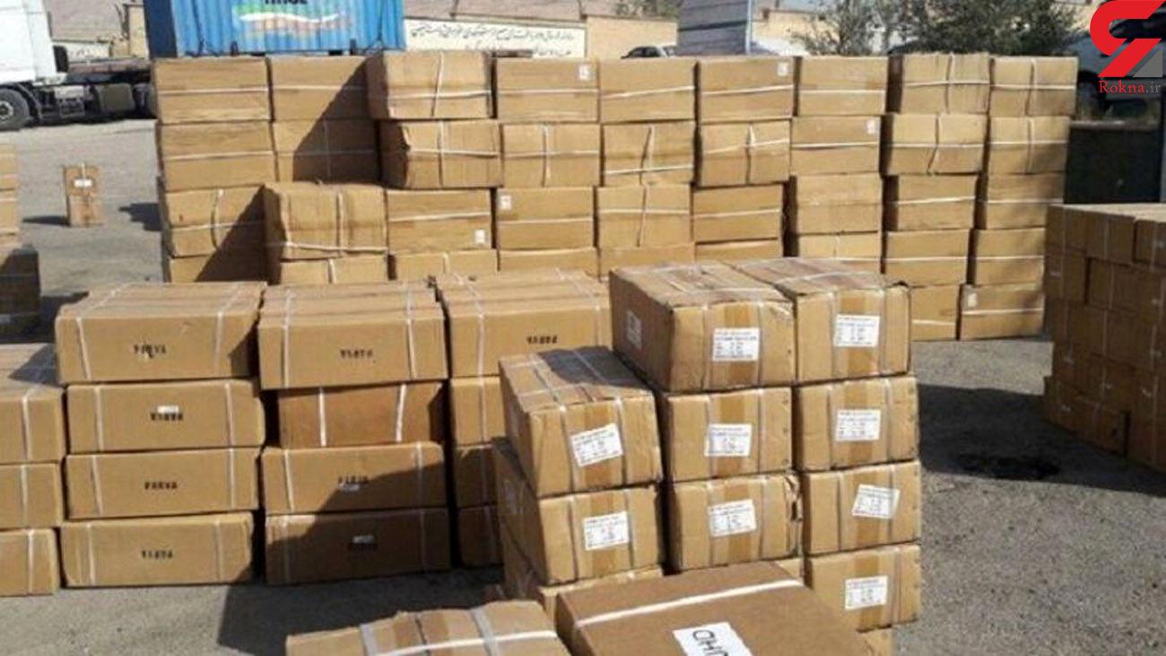 کشف 800 میلیون کالای قاچاق در تهران