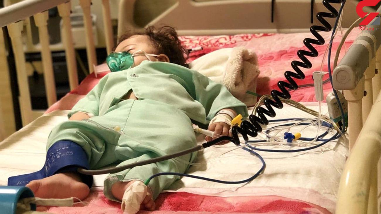 عروسک های معصوم بستری در بیمارستان های اهواز +عکس