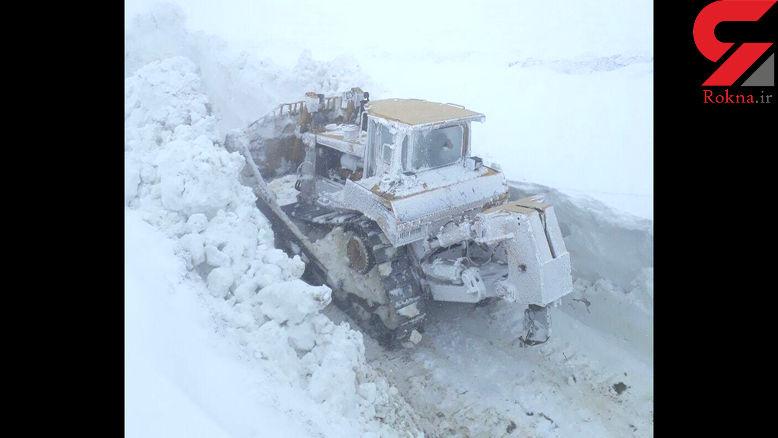 بارش برف ۳متری در ایران
