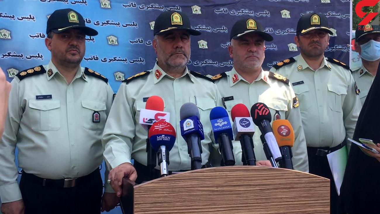 خشم شب پلیس به گانگسترهای تهران / 21 باند تبهکاری متلاشی شد + فیلم