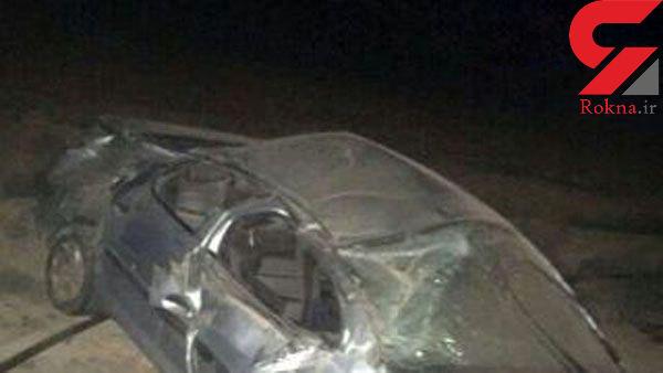یک کشته و 9 زخمی در پی واژگونی پژو 405 در ایرانشهر