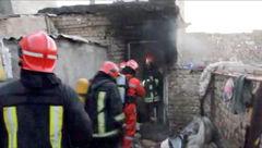 فداکاری دختر 16 ساله در آغوش آتش و مرگ!