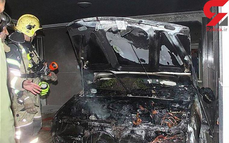 نشت بنزین یک خودرو، ساختمانی را در تهران با فاجعه روبهرو کرد