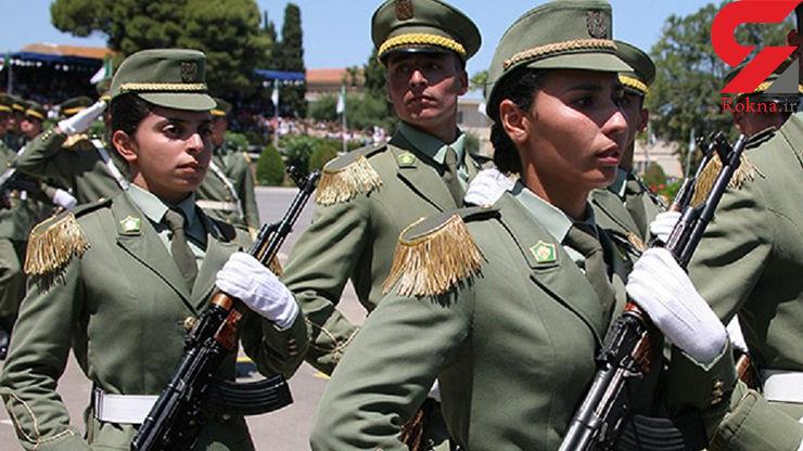 جنجال بخاطر خدمت سربازی دختران الجزایری
