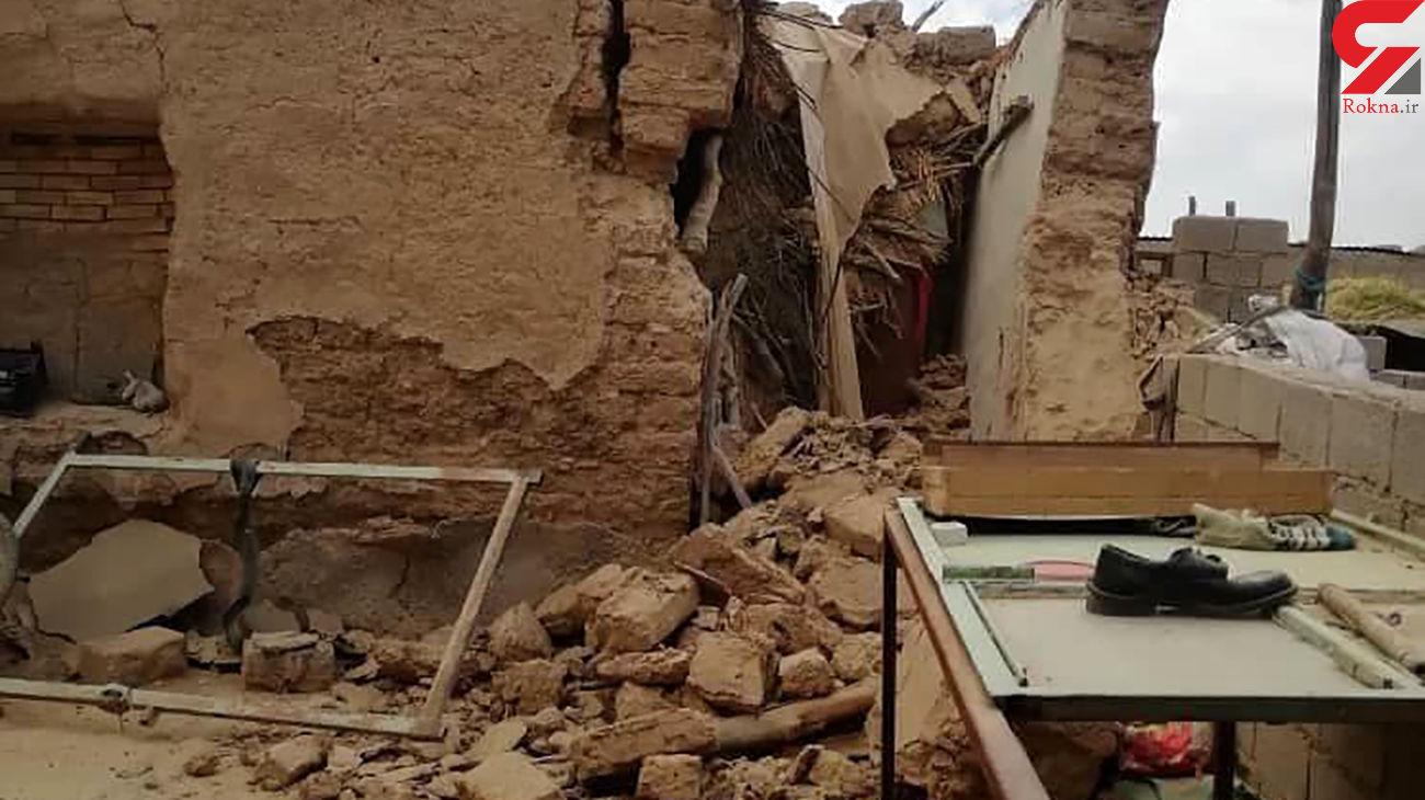 فیلم از لحظه زلزله در بوشهر و فرار مردم از خطر