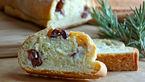 در خانه نان یونانی با طعم پنیر بپزید!