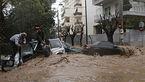 وقوع سیل در آتن، چندین کشته و زخمی برجای گذاشت