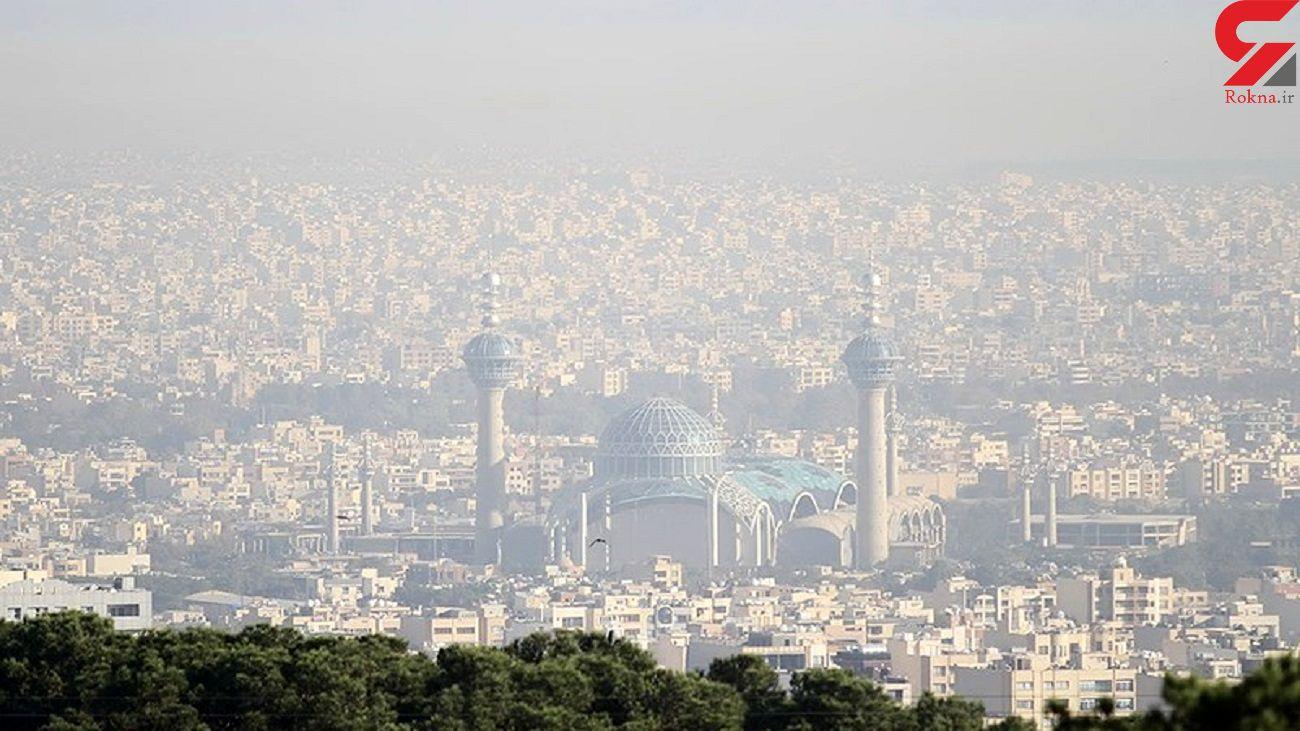 اصفهان بیشترین آلودگی هوا در ایران را دارد + فیلم
