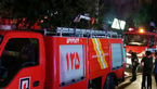 ۳ آتش سوزی گسترده هم زمان در نسیم شهر