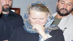 گریه خانم نماینده سازمان ملل برای دانش آموزان یمنی